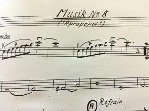 Noten des Musicals Mr. Poppcorn